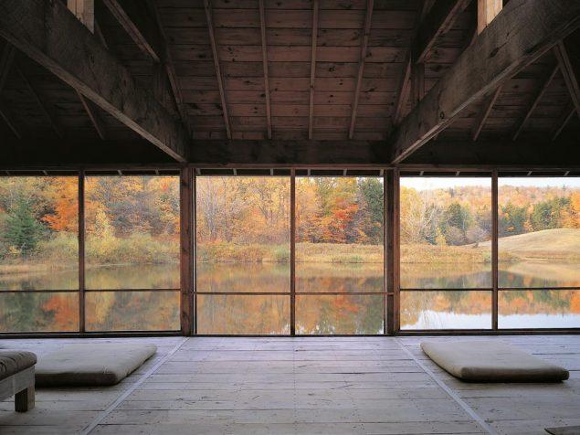 Michael Singer: Contemplative Pond Pavilion. Foto: David Stansbury. Courtesy: Michael Singer Studio