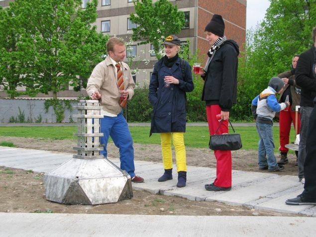 Panser, 2009. På Moving Space, Frederiksberg (Kbh). Foto: @ Jesper Aabille