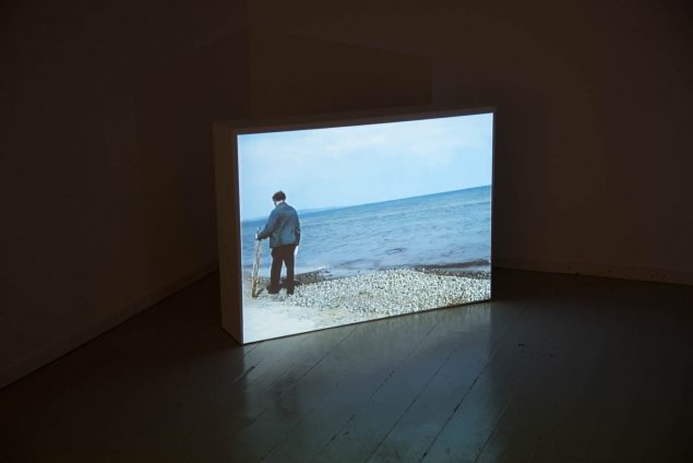 Henning Christiansen: Den vandrende stemme, 1991, still fra video. Foto: Thomas Gunnar Bagge
