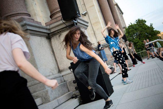 Isabel Lewis: An Occasion, SMK Friday (feat. Cph Art Week). Foto: Frida Gregersen