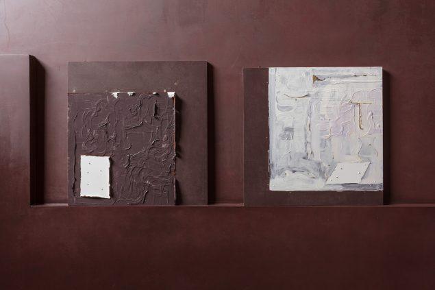 Marie Søndergaard Lolk: TEMPLATE, værker i rum 4 på Thorvaldsens Museum. Foto: Anders Sune Berg