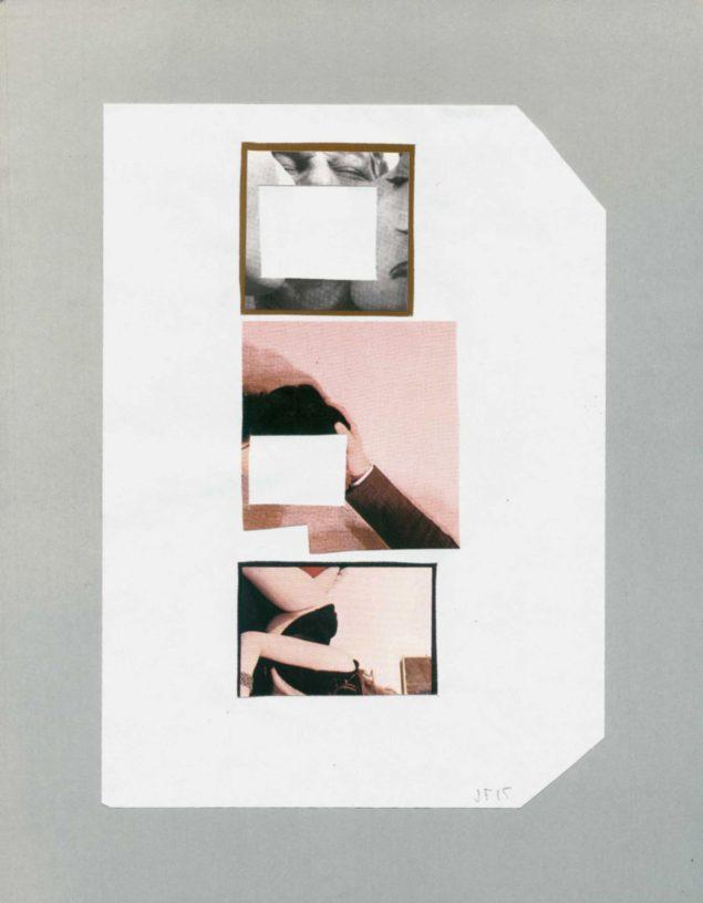 Jesper Fabricius: Collage, 2015.
