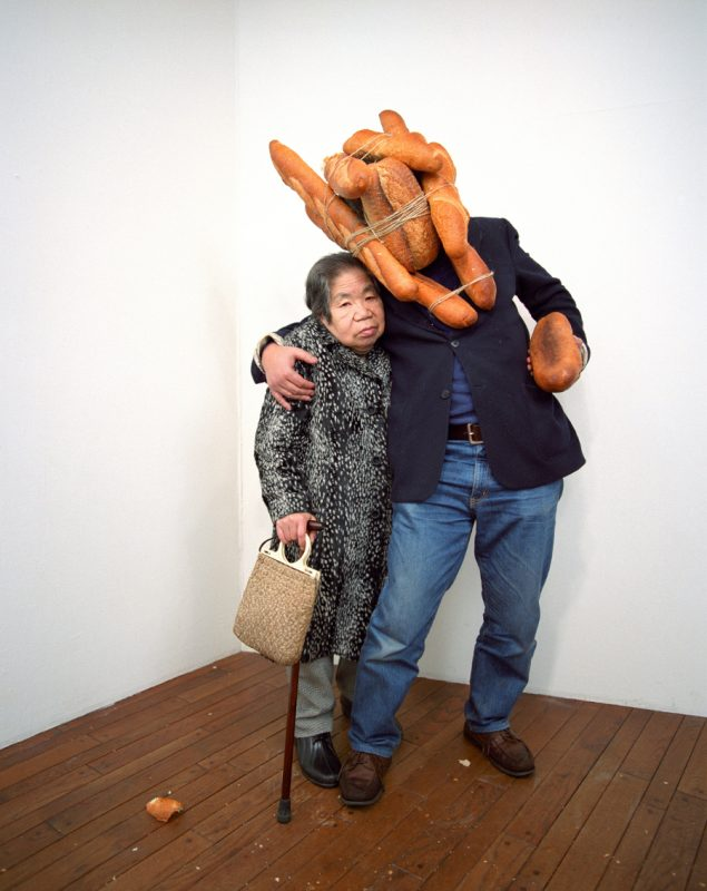 Tatsumi Orimoto: Bread Man, 1996. Copyright: ART-MAMA Foundation