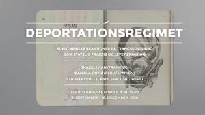 Deportationsregimet: Kunstneriske reaktioner på tvangsudvisning som statslig praksis og levet erfaring