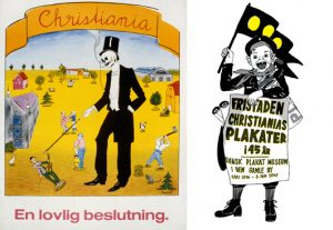 Fristaden. Christianias plakater i 45 år