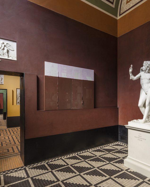 TEMPLATE, værker i rum 16 på Thorvaldsens Museum. Foto: Anders Sune Berg
