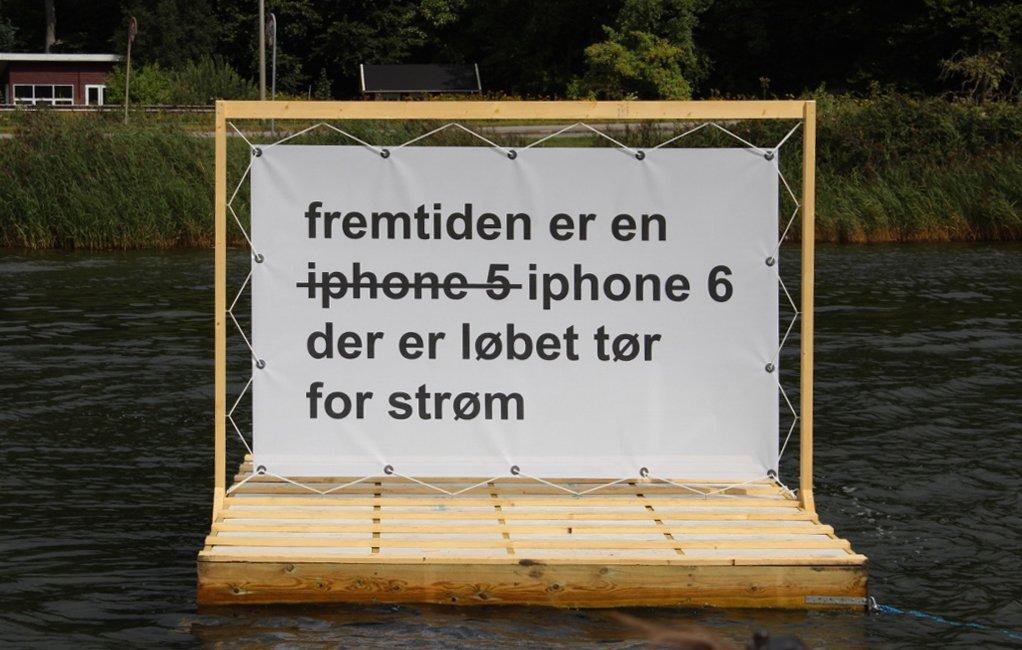 Claus Ejner: Fremtiden. Foto: Ole Bak Jakobsen