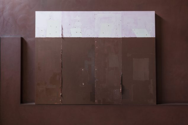 Thorvaldsens Museum, TEMPLATE, Uden titel, 2016, akryl på plade, 122x157 cm. Foto: Anders Sune Berg