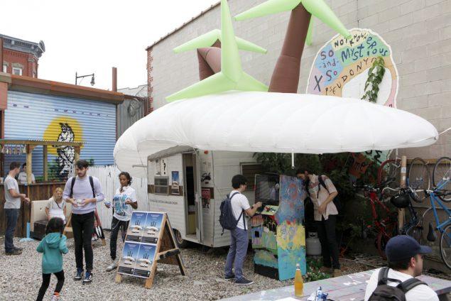 Den omrejsende udstilling i Brooklyn, NYC. Foto: Søren Dahlgaard