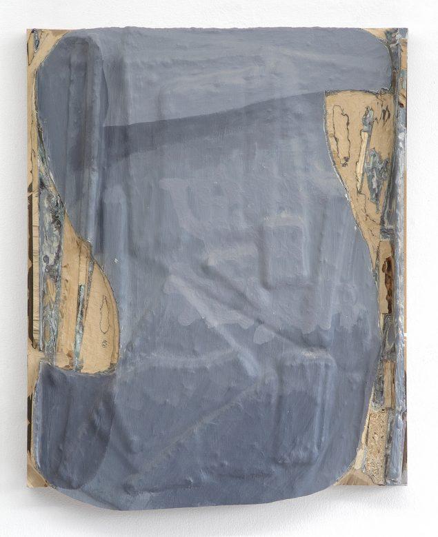 Uden titel, 2009, akryl, træ og mdf på plade, 60x50 cm. Foto: Anders Sune Berg