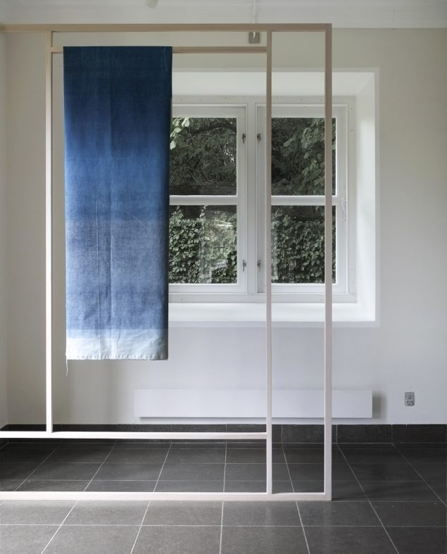 Installationsview fra udstillingen Interstice, Møstings Hus, 2016. Foto: Jon Erik Nyholm