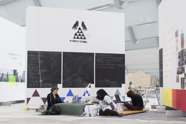 Utopia School, Alt_Cph '16. Foto: Frida Gregersen