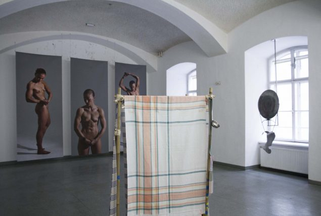 Fra udstillingen Public Intimacy på Parallel Vienna. Foto: Pia Eikaas