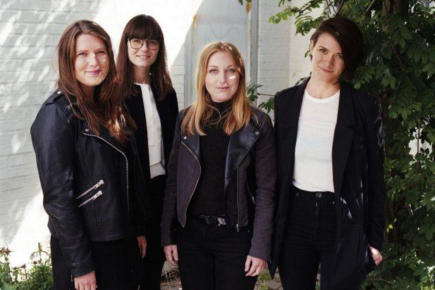 Rendezvous fra venstre Mathilde Renberg, Stine Skjødt Mygind, Søs Bech Ladefoged, Amalie Marie Laustsen. Foto Jacob Friis-Holm Nielsen