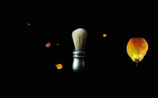 Stillbillede fra filmen Omkring en barberkost, 2015. Foto: Niels Pugholm