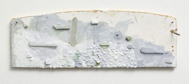 Uden titel, 2013, akryl og træ på plade, 185x525 cm. Foto: Anders Sune Berg