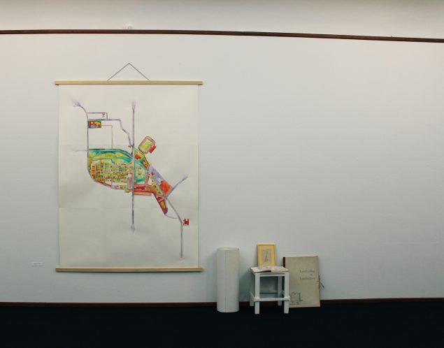 Ungdommen flytter ind, Skive Museum, 2016. Carta scivenius in memoria habita, akvarel.