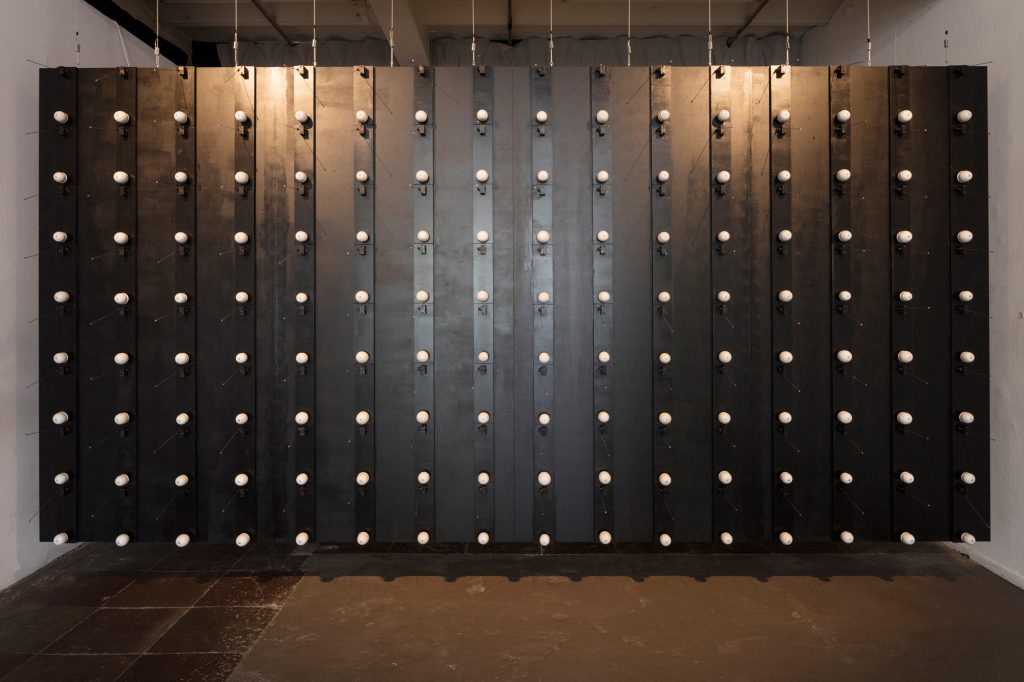 Tobias Lukassen & Andreas Wetterberg: Vertex, installationsview. Foto: Anders Sune Berg