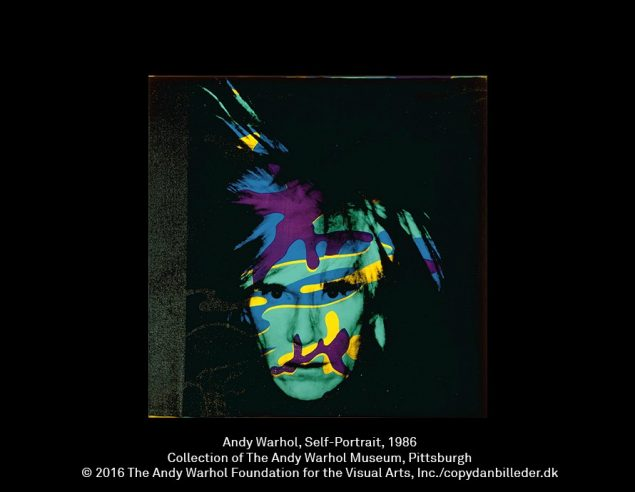 Andy Warhol: Self-Portrait, 1986. Collection of The Andy Warhol Museum, Pittsburgh. Copyright 2016 The Andy Warhol Foundation for the Visual Arts.