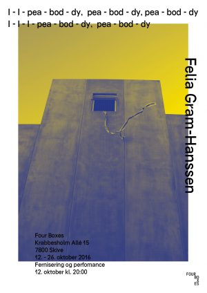 Felia Gram-Hanssen: I – I – pea -bod – dy, pea -bod – dy, pea -bod – dy I – I – I pea -bod – dy, pea -bod – dy