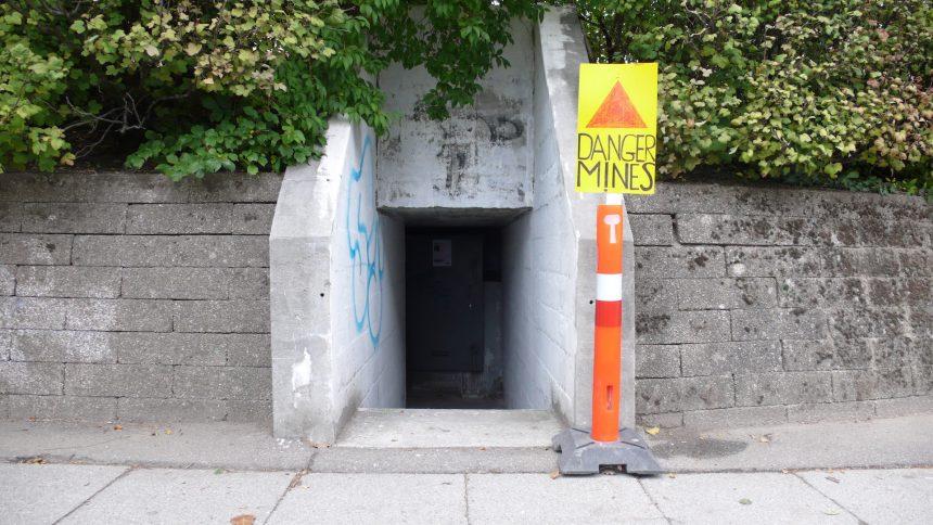 Bunker-pop up