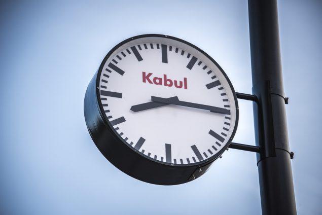 Jens Haaning: Kabul Time, 2016, Malmös Leende. Detalje. Foto: Ricard Estay