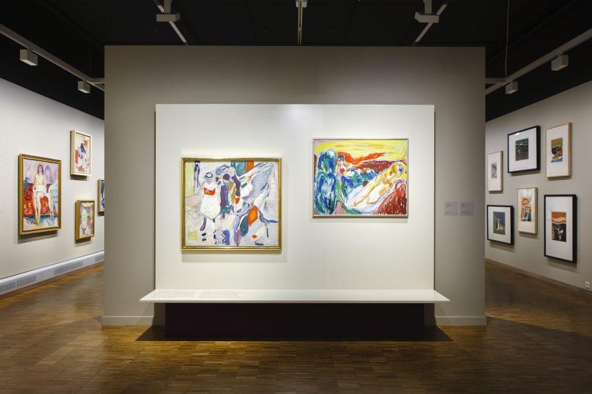 Jorn udpeger den maleriske Munch