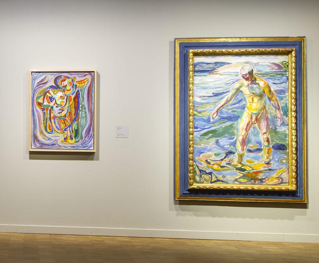 Jorn: Didaska og Munch Den Badende