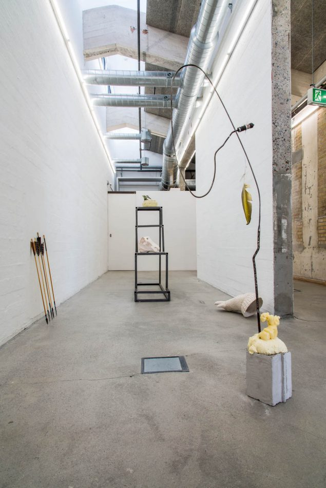 Christian Bang Jensens installation. Foto: Niels Fabæk