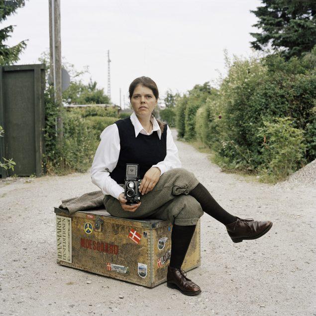 Charlotte Haslund-Christensen: Kunstneren som opdagelsesrejsende, 2008. Fra serien De Indfødte/Natives: The Danes