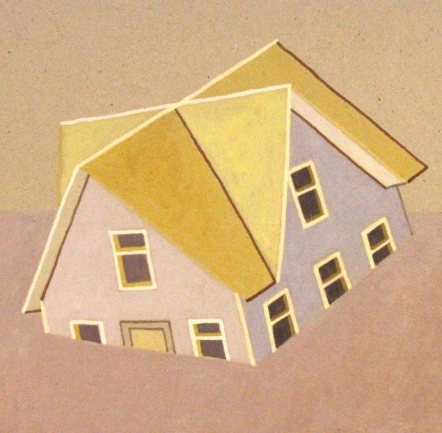 Værk af Camilla Thorup, der er en del af gruppeudstillingen One Size Fits All på Format Artspace