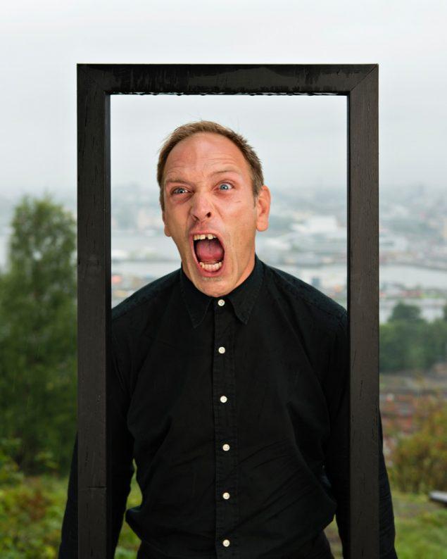 Marine Abramovic: The Scream, 2013. Foto: Ekebergparken / © Ivar Kvaal