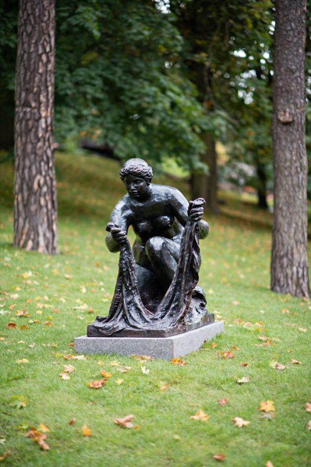 Pierre-Auguste Renoir: La grande Laveuse, 1914-1917. Foto: Ekebergparken / © Ivar Kvaal