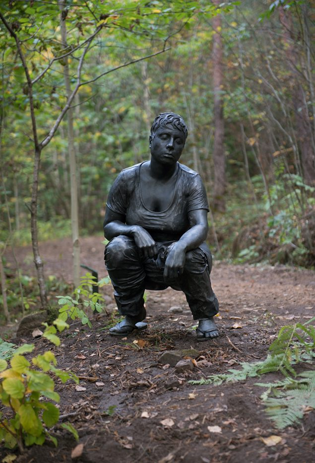 Ann-Sofi Sidén: Fideicommissum, 2002. Foto: Ekebergparken / © Ivar Kvaal