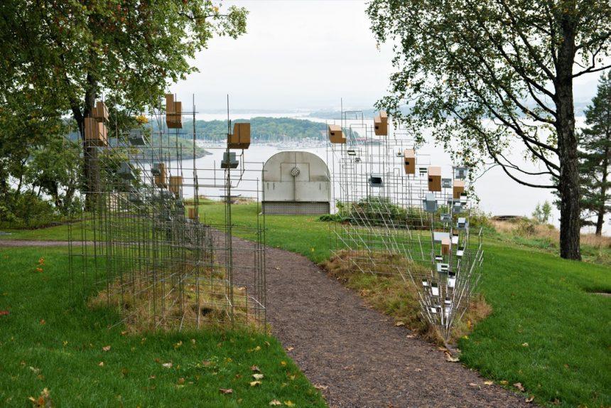 Skriget i rigmandens kunstpark