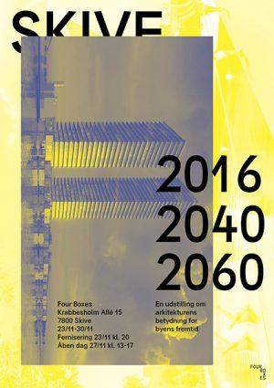 SKIVE 2016, 2040, 2060