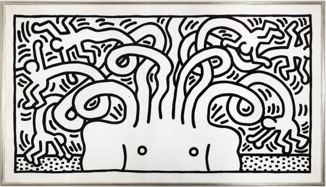 Keith Haring: Medusa Head, 1986