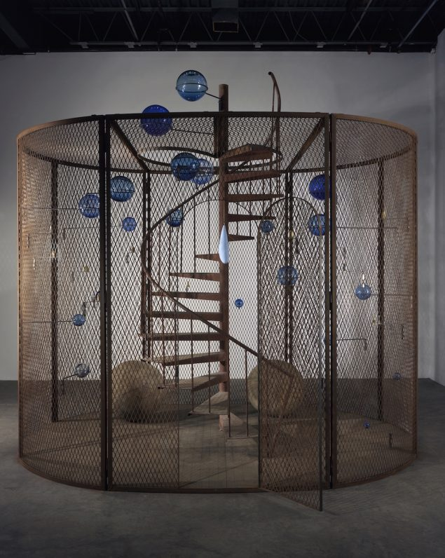 Louise Bourgeois: Cell (The Last Climb), 2008.