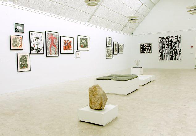 Heerup Museum, Linjen, installationsviews. Fotograf: Michael Dam, Heerup Museum
