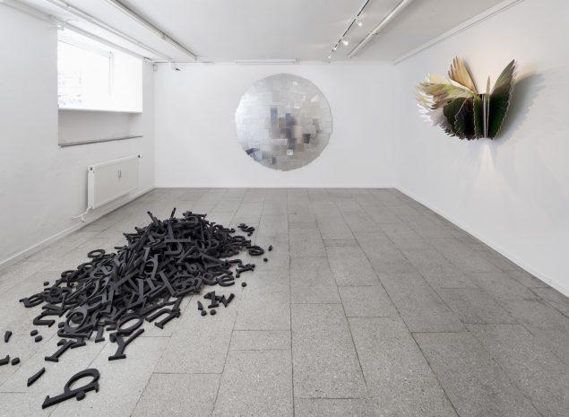 Peter Holst Henckel: Couplings and Doublings. Installationsview. Foto: Lea Nielsen