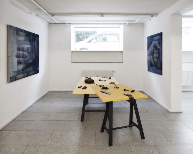 Peter Holst Henckel: Couplings and Doublings. Installationsview, SPECTA, 2013. Foto: Lea Nielsen