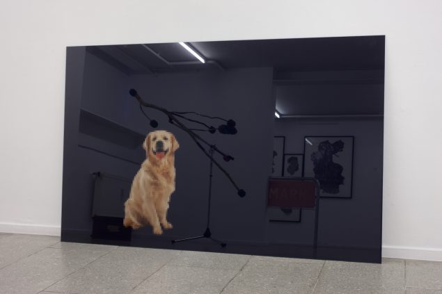 Peter Holst Henckel: Framed Golden Retriever, 2016. Foto: Erling Lykke Jeppesen