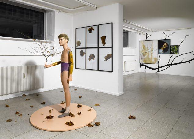 Peter Holst Henckel: Human Nature, 2008. Installationsview, SPECTA. Foto: Anders Sune Berg