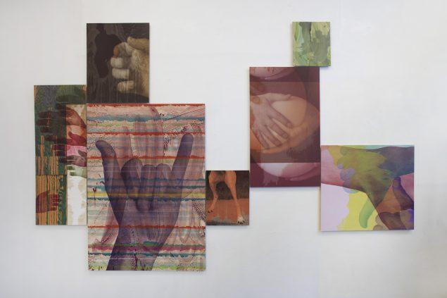 Priming and Framing, 2016. Installationsview, SPECTA. Foto: Erling Lykke Jeppesen