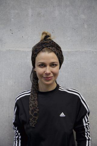 Portræt af Astrid Myntekær