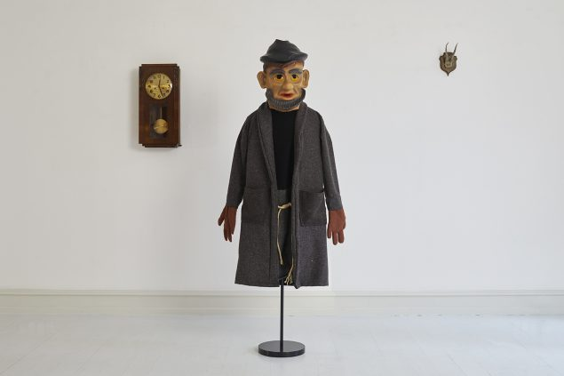 Søren Jensen: Profan Teater – Trilogien, del 2-3. Installationsview, Galerie Mikael Andersen, København. Foto: Jan Søndergaard