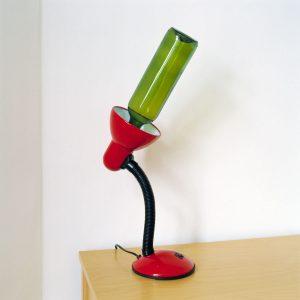 Jakob Hunosøe: Wine Bottle Replacing Light Bulb