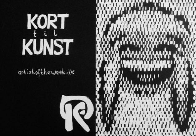 Til venstre; , artistoftheweek.dk:  KORT til KUNST, til højre: Anne Kathrine Sørup: Traditional alphabet scripts have been struggling to meet the rapid-fire, visually focused demands of 21st Century communication
