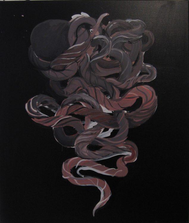 Dorte Naomi: Liv uden liv, 2012, 60 x 70 cm © Dorte Naomi