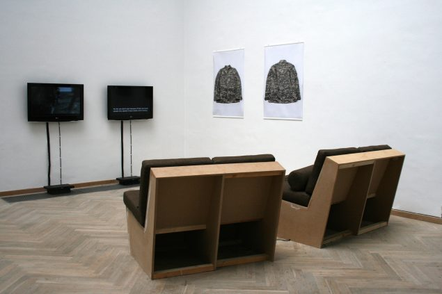 Rasmus Brink Pedersen: SamtalemJ, Kunsthal Charlottenborg, 2010. Foto: Rasmus Brink Pedersen